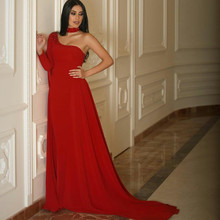 Carpet Quinceanera-Dress Party-Gowns Mermaid Shoulder Dubai Red One Fashion Beading Arabic