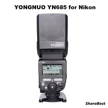 YONGNUO i-TTL Speedlite YN685 YN685N (YN-568EX Upgraded Version) Flash for Nikon DSLR + YN622N-TX  Flash Trigger