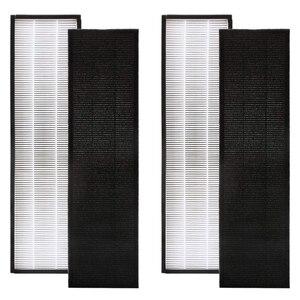 Pacote de 2 verdadeiro filtro hepa c para germguardian flt5000 flt5111 ac5000 series|Peças de purificador de ar| |  -