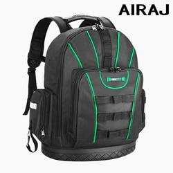 AIRAJ Multi-funktion Werkzeug Rucksack Werkzeug Tasche 16 in/18 in Schulter Große Kapazität Elektriker Tasche Multi- werkzeug Lagerung Tasche