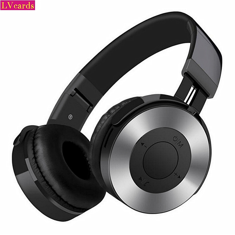 Fashion  Wireless Headphones Bluetooth Headset Foldable Stereo Headphone Gaming Earphones With Microphone For PC Mobile Phones
