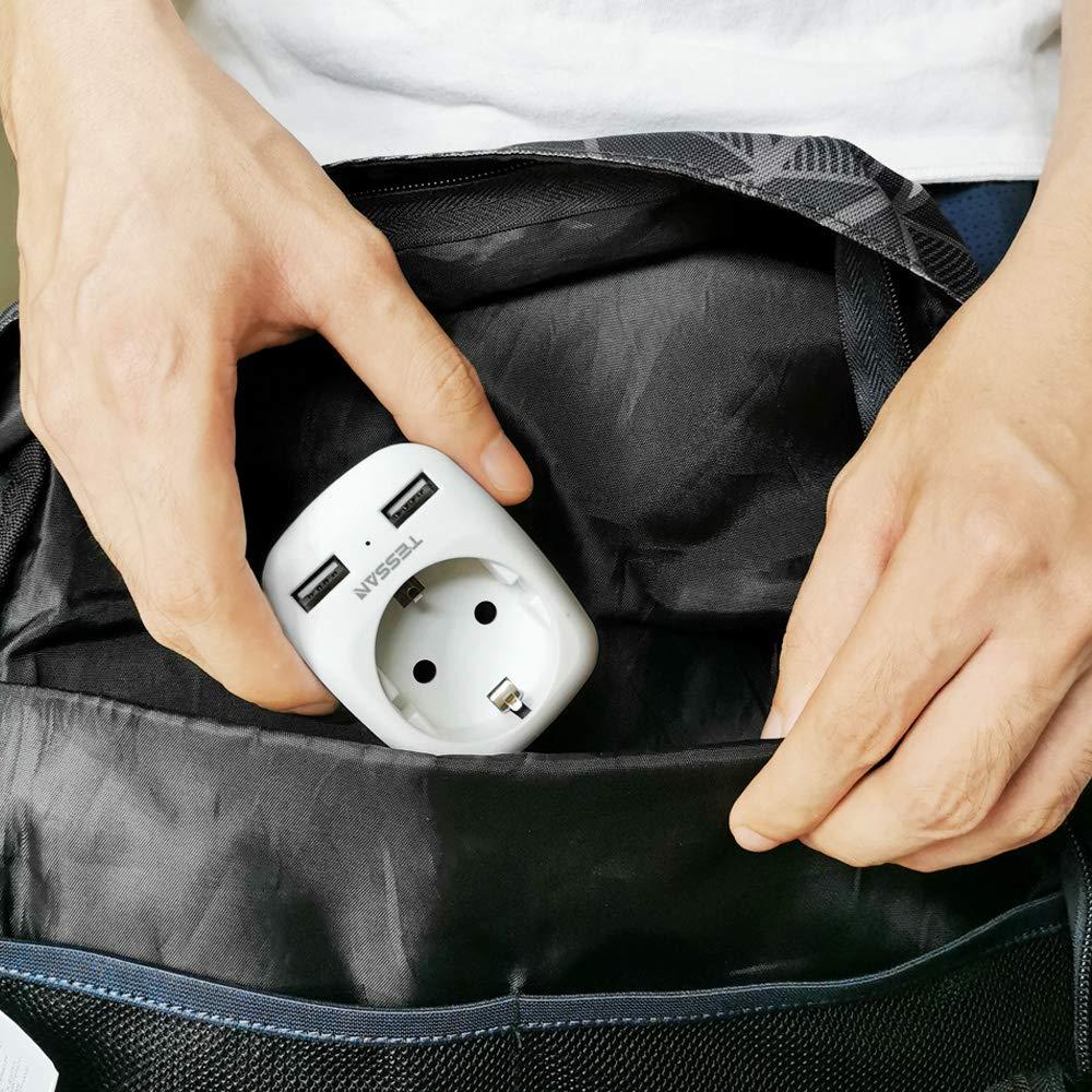 5v 2.4a adaptador de energia protetor contra surtos para casa escritório