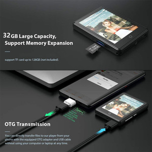 "Image 3 - M7 MP3 נגן 2.8 ""מסך מגע מלא נייד מיני 32GB Built בגדולה זיכרון HiFi מוסיקה נגן FM רדיו פדומטר וידאו נגן"