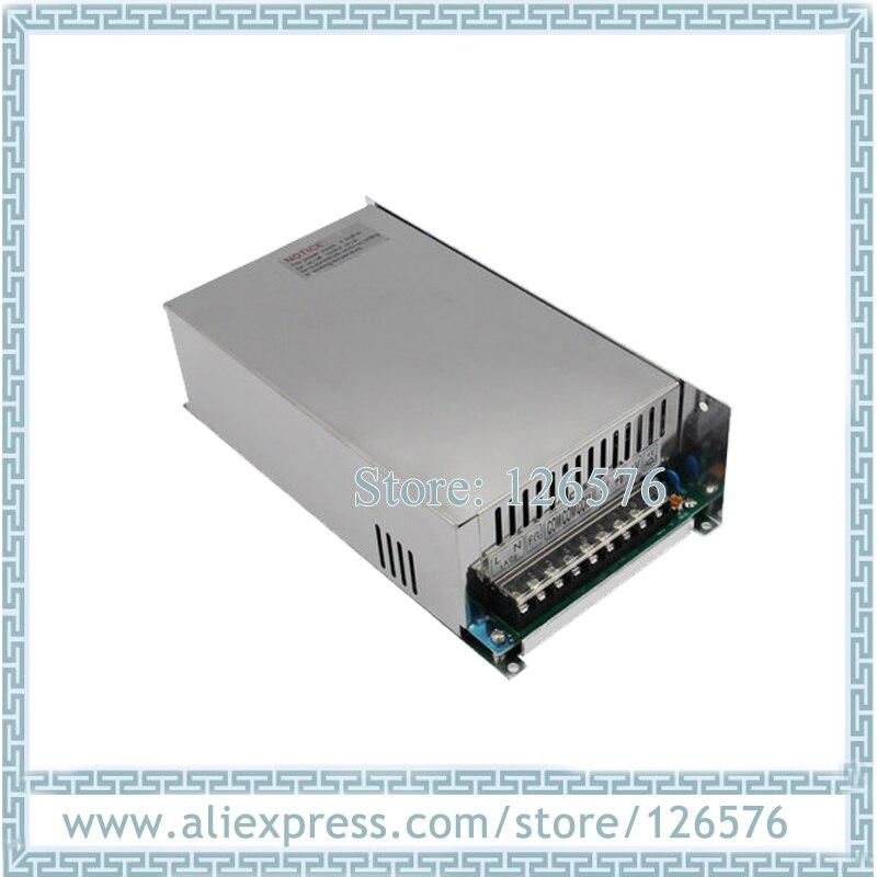 500 Вт источник питания Вход AC220V выход DC12V/DC24V/DC36V/DC48V/DC110V переключатель питания