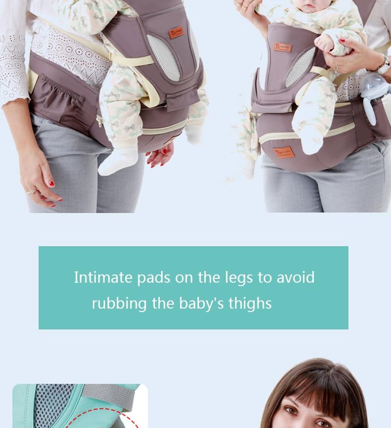 estilingue para recém-nascidos frente enfrentando canguru para
