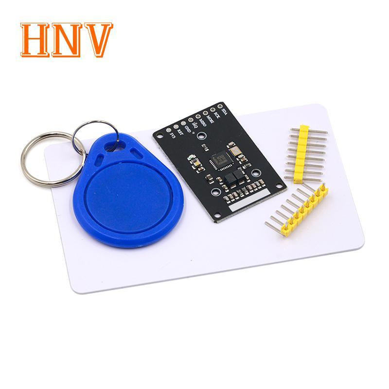Мини RFID модуль RC522 наборы S50 13,56 МГц 6 см с бирками SPI запись и чтение для arduino uno 2560