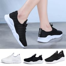 Sneakers Breathable shoes Women's Ladies Casual Anti-Slip Sport Walking Sneakers Running Soft Shoes Adult Leisure Shoes vapormax(China)