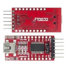 Adaptador FT232RL FT232 FTDI, Cable de descarga USB a TTL, 5V, 3,3 V, Módulo adaptador a serie para Arduino USB a 232