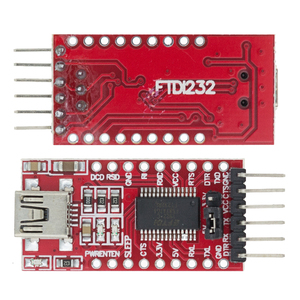 Image 1 - FT232RL FT232 FTDI Adapter USB TO TTL 5V 3.3V Download Cable To Serial Adapter Module For Arduino USB TO 232