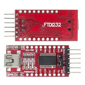 Image 1 - FT232RL FT232 Ftdi Adapter Usb Naar Ttl 5V 3.3V Downloaden Kabel Naar Serieel Adapter Module Voor Arduino Usb tot 232