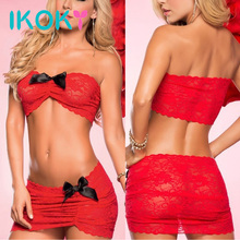 IKOKY Extoric Apparel Sexy Lace Clothing Pole Dancing Club Lingerie Erotic Under