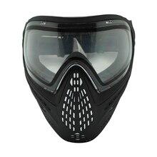 Militaire Volgelaatsmasker Anti Fog Paintball Masker met DYE I4 Thermische Lens