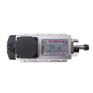 Image 4 - 1.5kw 공기 냉각 스핀들 모터 110V/220V 스퀘어 공기 냉각 스핀들 밀링 스핀들 CNC 조각 목재 라우터