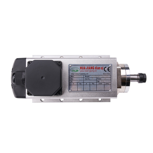 Image 4 - 1.5kw אוויר מקורר ציר מנוע 110V/220V כיכר אוויר קירור ציר כרסום ציר עבור CNC חריטה עץ נתב