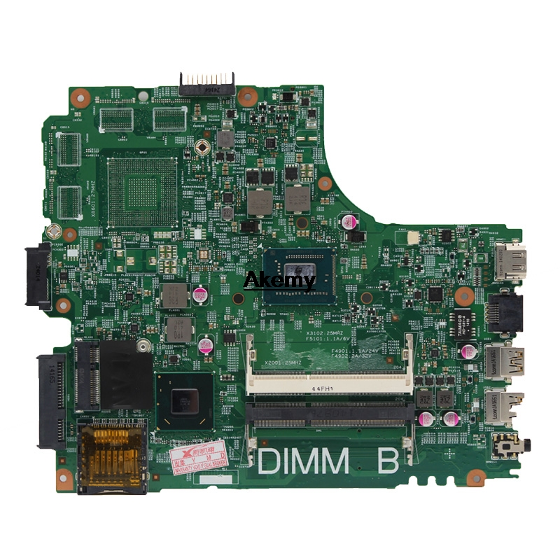 12204-1 For DELL INSPIRON 2421 3421 5421 laptop motherboard CN-07GDDC I3-2375M 12204-1 DNE40-CR orginal Teste motherboard 2