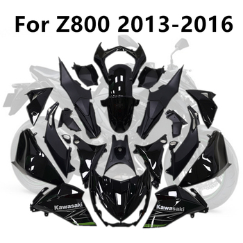 Motorcycle High Quality For Kawasaki Z800 2013-2014-2015-2016 Full Fairing Kits Injection ABS Bodywork Kit Cowling Black classic