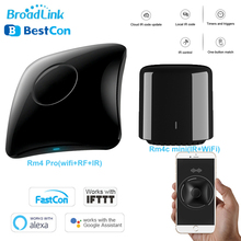 BroadLink Bestcon RM4 Pro/Rm4C Mini WIFI IR RF Universal Smart REMOTE Controller ทำงานร่วมกับ Alexa Google Home สำหรับ home Automation