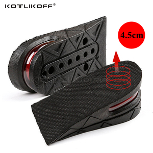 Image 1 - KOTLIKOFF Invisible Height Increase Insole Adjustable 2 Layer 3CM/4.5CM Air Cushion Pads Elevator Soles Insoles inserts For Shoe
