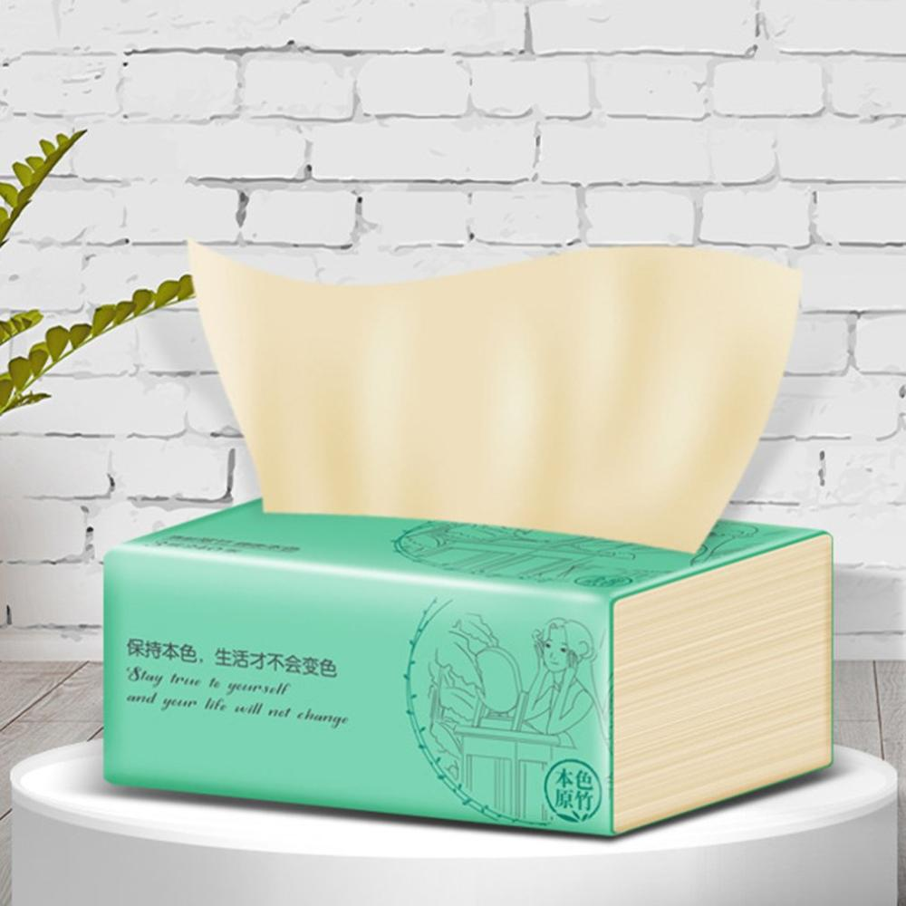 Portable Bamboo Pulp Paper 3 Layers Natural Paper Towel Papers Toilet Paper Available For Mothers And Babies