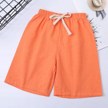 2020 letnie nowe bawełniane spodenki dla dzieci gorąca sprzedaż spodnie casual zwykłe spodnie oddychające outdoor sport moda przystojny słodkie szorty tanie i dobre opinie ang fou Pasuje prawda na wymiar weź swój normalny rozmiar 0 1kg POLARTEC Szybkie suche ETDK2019 COTTON