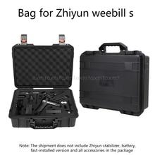 Storage Bag Suitcase Explosion proof Box Carry Case for Zhiyun Weebill S PTZ Kit D27 19 Dropship