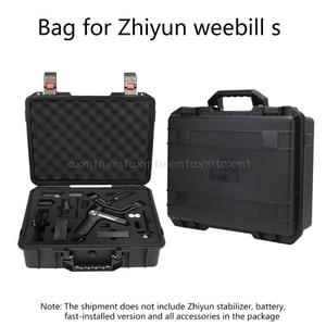 Image 1 - Storage Bag Suitcase Explosion proof Box Carry Case for Zhiyun Weebill S PTZ Kit D27 19 Dropship