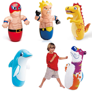 Tumbler Inflatable Punching Bag Boxing Toy Backyard Playground Indoor Games for Kids Sport Toys For Children