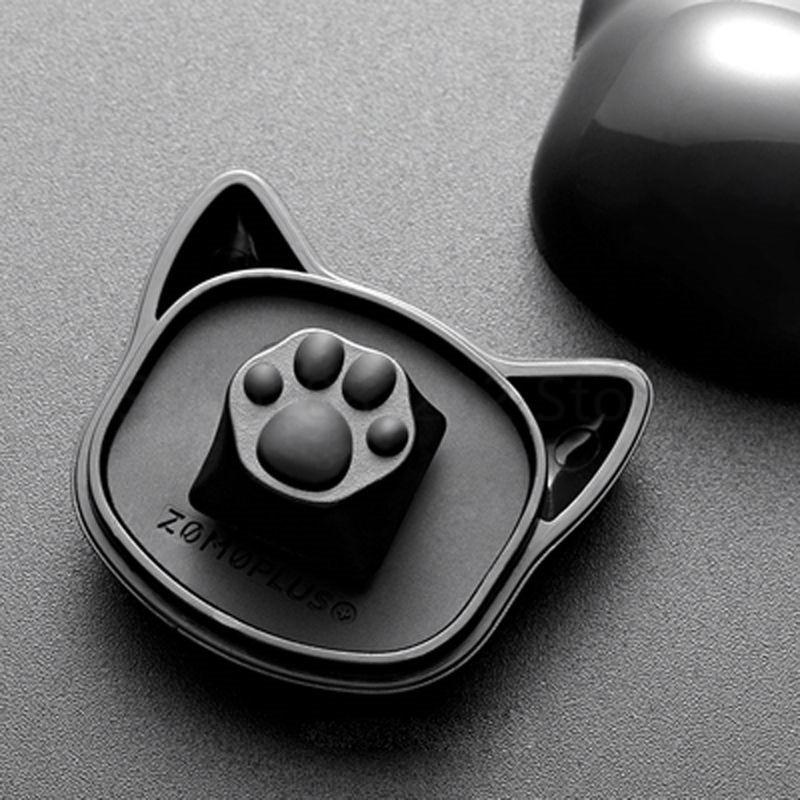 Personalidade personalizada abs silicone gatinho artisan gato