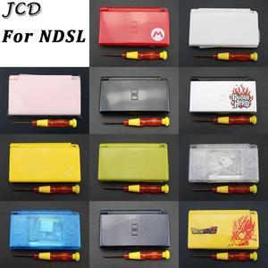 Image 1 - JCD מלא חלקי תיקון החלפת דיור פגז מקרה ערכת עם מברג עבור Nintendo DS Lite NDSL