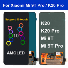 6.39 Mi 9T LCD For Xiaomi mi 9t LCD Display Touch Screen Digitizer Assembly for Redmi k20 LCD mi 9t pro lcd K20 Pro display 10piece lot for xiaomi redmi k20 k20 pro case flip leather cases for xiaomi mi 9t mi 9t pro stand case pu leather cover