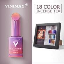 VINIMAY esmalte de uñas en Gel semipermanente, laca de Gel semipermanente UV para manicura de uñas artísticas