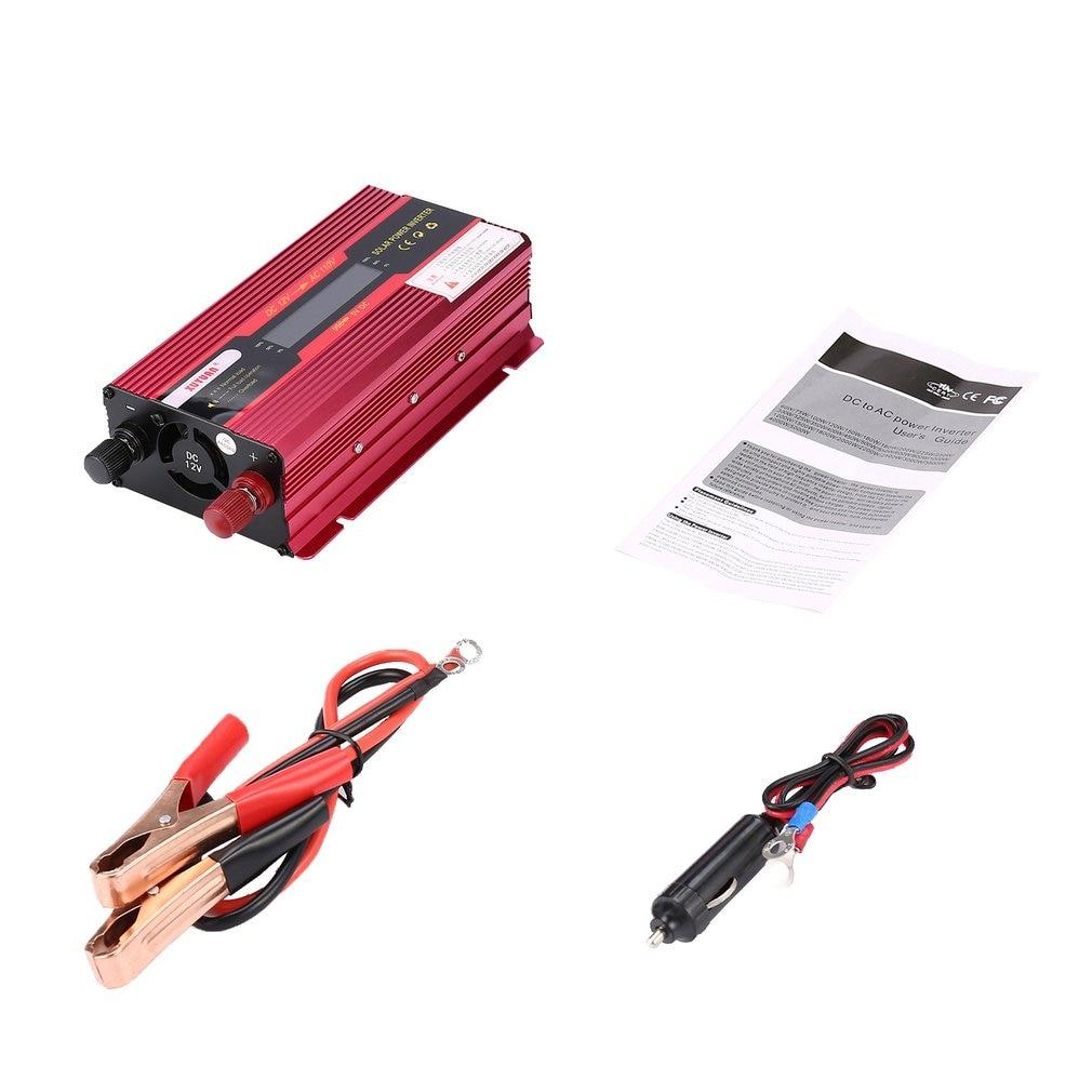 Onduleur solaire 3000 W/4000 W modifié convertisseur à onde sinusoïdale Pure 12V 220 V/24 V 220 V/12 V 110V