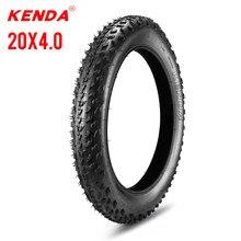 Kenda pneu de campo de neve elétrico 98-406 roda dianteira e traseira praia bicicleta roda 20 polegada 60tpi bicicleta com tubo interno 4.0 pneu de gordura