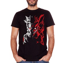 CUC T-SHIRT COFFBEATS NARUTO MANGA HOKAGE VOLPE NOVE CODE ITACHI Cartoon t shirt mężczyźni Unisex nowa modna koszulka darmowa wysyłka
