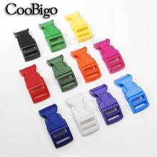 5pcs Color Plastic Curved Side Release Buckles 5/8