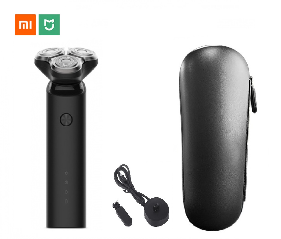Xiaomi Mijia Electric Shaver Razors Beard Hair Trimmer Rechargeable 3D Head Dry Wet Shaving Machine Washable Dual Blade For Men