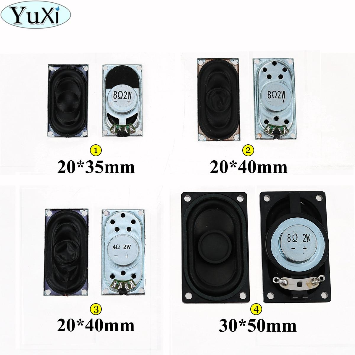 YuXi LCD Monitor/TV/Notebook Speaker Horn 2W 4R 8R 2035 3520 2040 5030 3050 Loud Speaker 8 Ohms 2 Watt 20*35MM 20*40MM 50*30MM