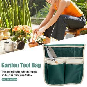 С чехлом для инструментов, крепкий садовый разминающий стул, Мягкий складной портативный, легкий, защищает колени, садовый подшипник 150 кг