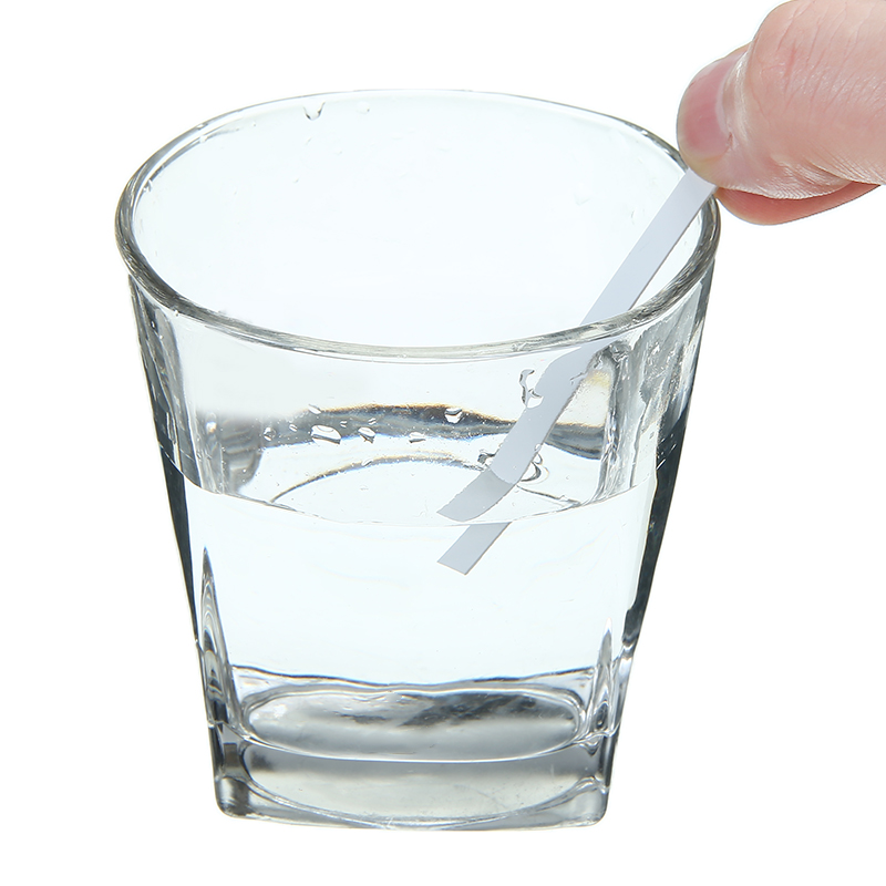 1 Bottle 28 Strips Keto Ketone Testing Strips PH Meter Home Ketosis Urine Test Strips for Ketosis and Ketogenic Diet