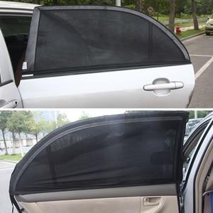 Image 3 - 2 Stuks Car Window Zonnescherm Rear Side Windows Kids Baby Uv Beschermd Cars Zon Shades Auto Achterzijde Venster zonneklep Shade Side Suv