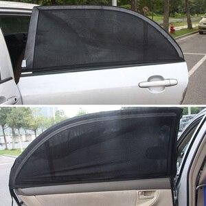 Image 3 - 2Pcs Car Window Sun Shade Rear Side Windows Kids Baby Uv Protected Cars Sun Shades Car Rear Side Window Sun Visor Shade Side SUV