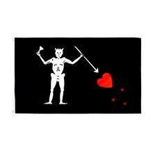 90*150 centímetros Do Crânio e da Cruz Crossbones Sabres Espadas Jolly Roger pirata Baú da Morte Bandeiras para decoração