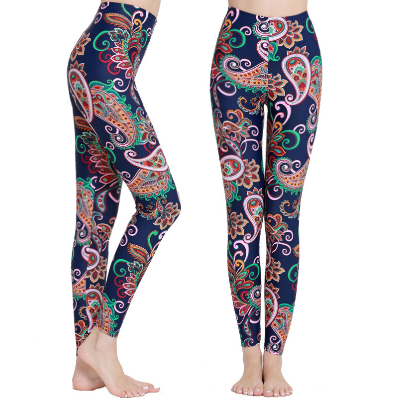 Diving Pants Women's Long Legs Slim Fit Slimming Printed Quick-Drying Trousers Ultra-stretch Diving Surfing Swimming Pants Women