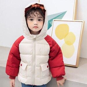 Image 1 - Benemaker מעיל החורף לילדים ילדה מעיילי סרבל פעוט סלעית מעיל בגדי תינוק מעיל רוח ילד הלבשה עליונה YJ116