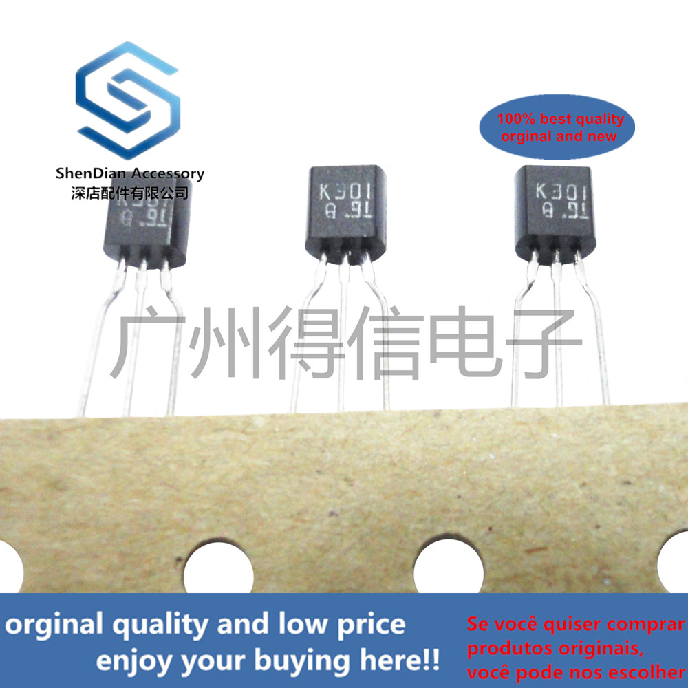 10pcs 100% New And Orginal 2SK301Q K301 TO-92 In Stock