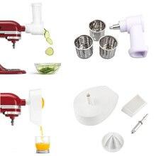 Press-Extractor Citrus-Juicer Shredder-Attachment Kitchenaid Orange Food for 5qt/Ksm75wh/5ksm165ps/Food