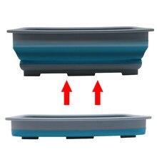 Трендовый бытовой простой жизни складной ведро Портативный Кемпинг Рыбалка инструмент для мойки автомобилей портативный водонепроницаемый складной бассейн высокого качества 812