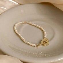 LISM – chaîne de clavicule en perles d'eau douce pour femme, bijoux à la mode, simple et de haute qualité, nouveau style
