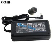 Oryginalna ładowarka 150W 19 5V 7 7A 6 5X4 4mm Adapter AC VGP-AC19V54 dla Sony Vaio PCG-FR860 PCG-FRV28 PCG-GRT750 VGN-N130P B na laptopa tanie tanio EKAWI Rohs CN (pochodzenie) 19 5 v 1* US EU UK AU