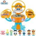Экшн-фигурки Octonauts Octopus Castle Shark Adventure Plsyset, игрушки для детей, подарки на день рождения